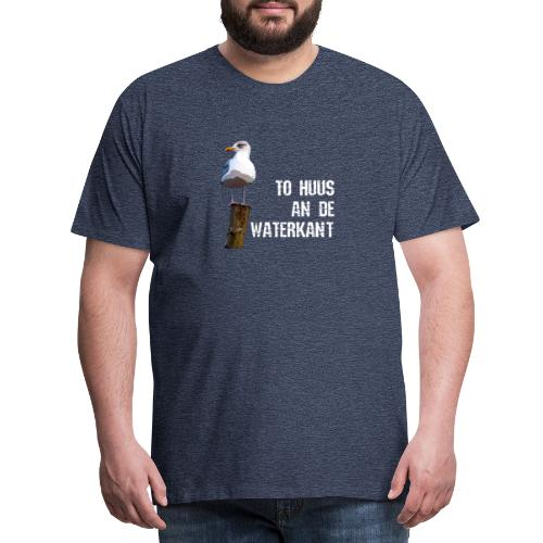 An de Waterkant Norddeutschland Möwe Shirt - Männer Premium T-Shirt