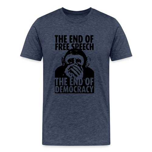 FREE SPEECH - Männer Premium T-Shirt