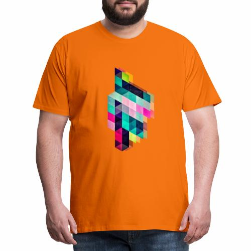 HAPPY SQUARES - T-shirt Premium Homme