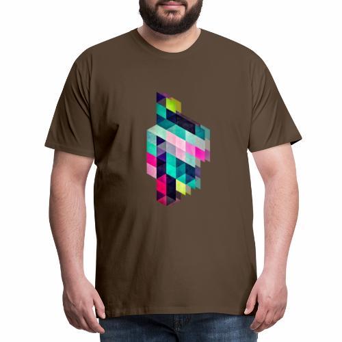 HAPPY SQUARES - T-shirt Premium Homme