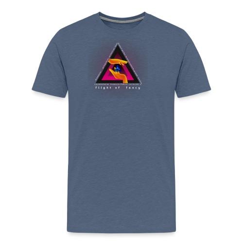 Flight Of Fancy - Black - T-shirt Premium Homme