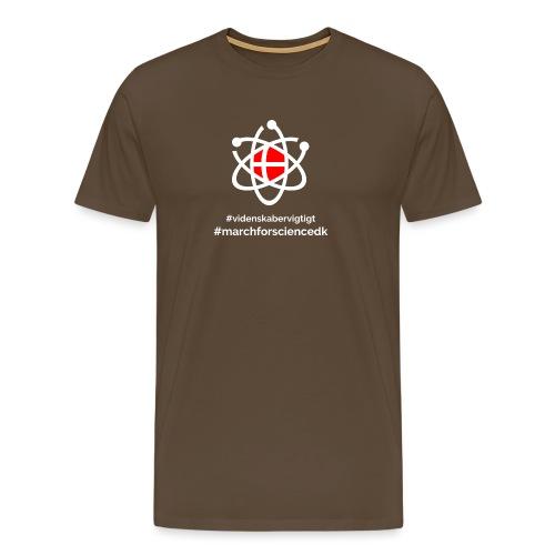 March for Science Danmark - Men's Premium T-Shirt
