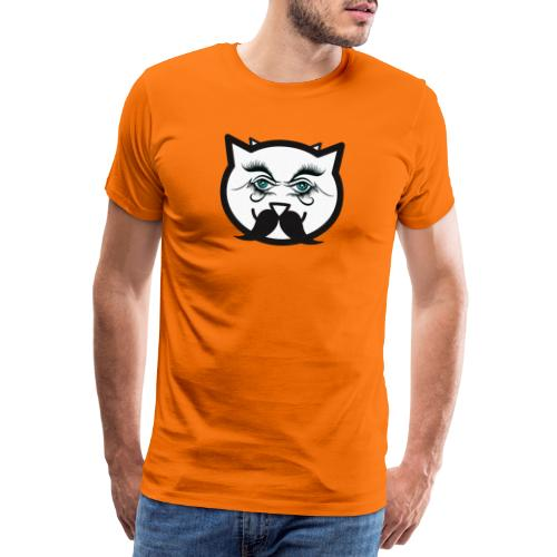 Hipster cat Boy by Tshirtchicetchoc - T-shirt Premium Homme