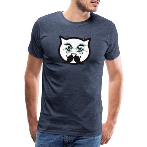 Hipster cat Boy by Tshirtchicetchoc - T-shirt Premium Homme