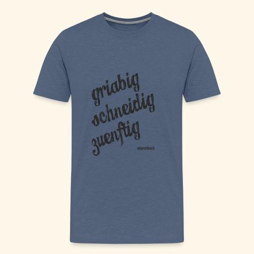 gsz shirts candy schwarz - Männer Premium T-Shirt