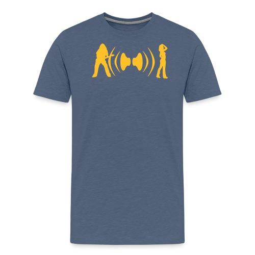 He She Speaker - Männer Premium T-Shirt