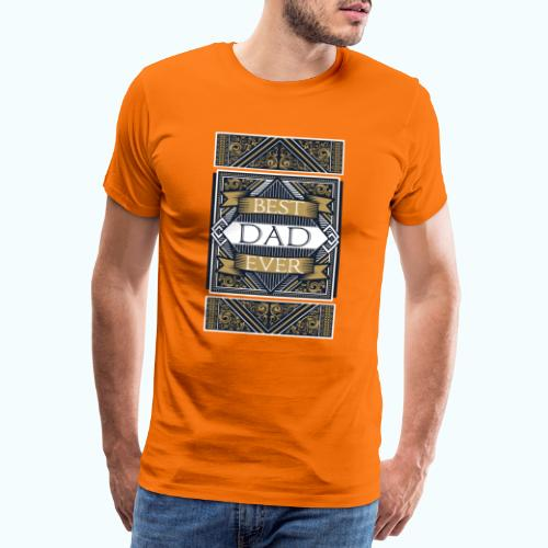 Best Dad Ever Retro Vintage Limited Edition - Men's Premium T-Shirt