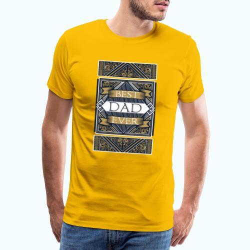 Best Dad Ever Retro Vintage Limited Edition - Men's Premium T-Shirt