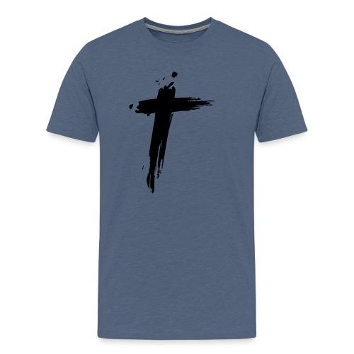 Cross - Mannen Premium T-shirt