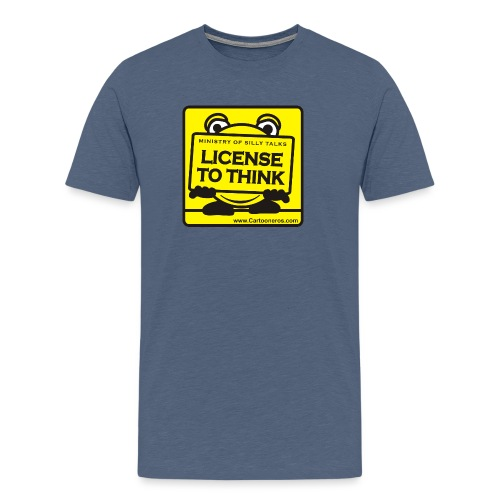 Licence to Think - Men's Premium T-Shirt