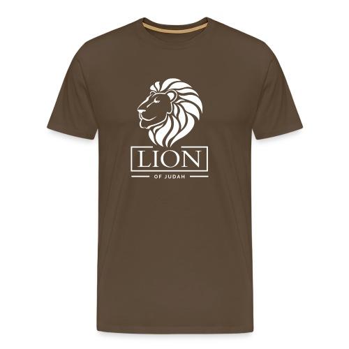 Lion of Judah - Rastafari - Männer Premium T-Shirt