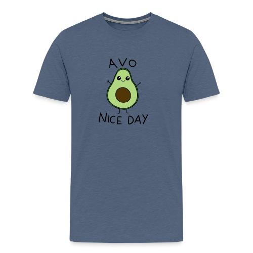 Avo Nice Day - Men's Premium T-Shirt
