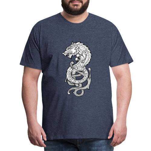 Le Loup Fenrir - T-shirt Premium Homme