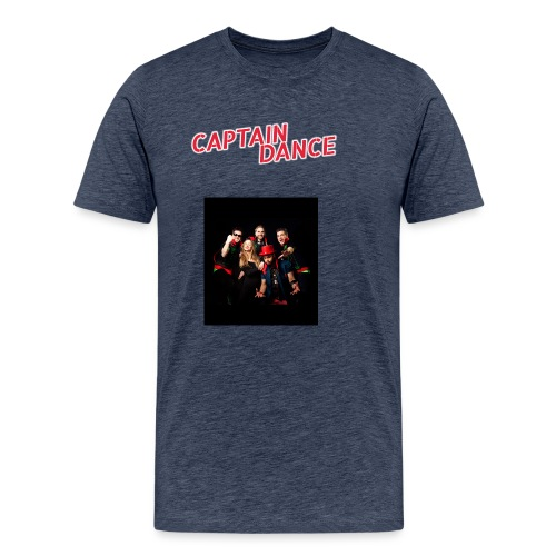 Banner-in-rot-new-spacing - Männer Premium T-Shirt