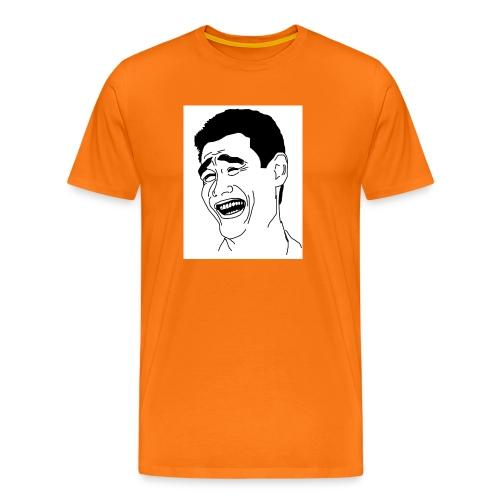 Yao Ming Face Bitch Please - Koszulka męska Premium