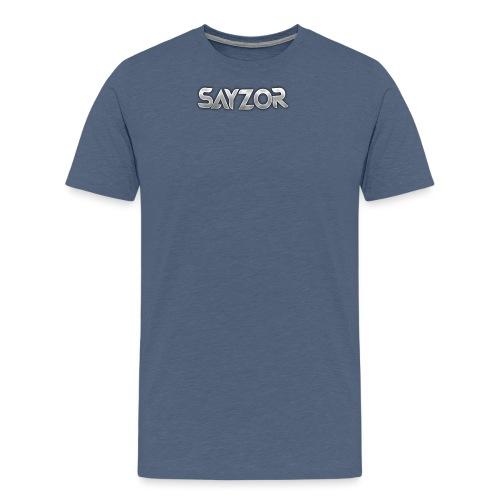 Navy 2017 Sayzor Merch! - Men's Premium T-Shirt