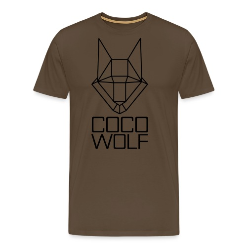 COCO WOLF - Männer Premium T-Shirt