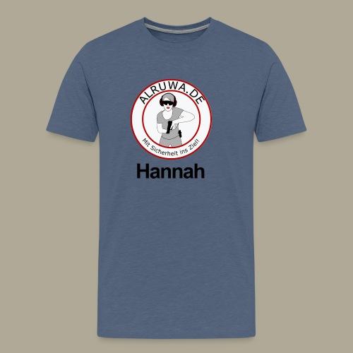 Vorderseite Hannah - Männer Premium T-Shirt