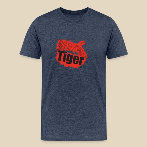 Red Tiger - T-shirt Premium Homme