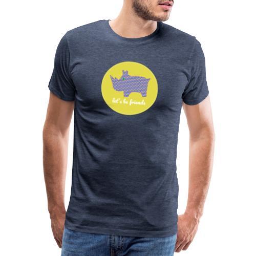 Zullen we vrienden worden? Let's be friends - Mannen Premium T-shirt