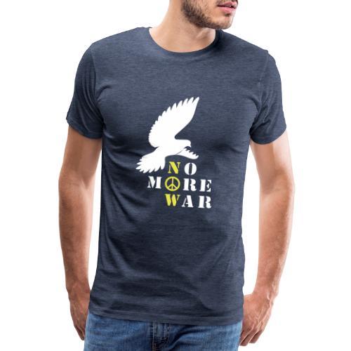 No More War Now Silhouette - Männer Premium T-Shirt