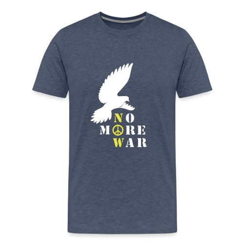 No More War Now Silhouette - Männer Premium T-Shirt