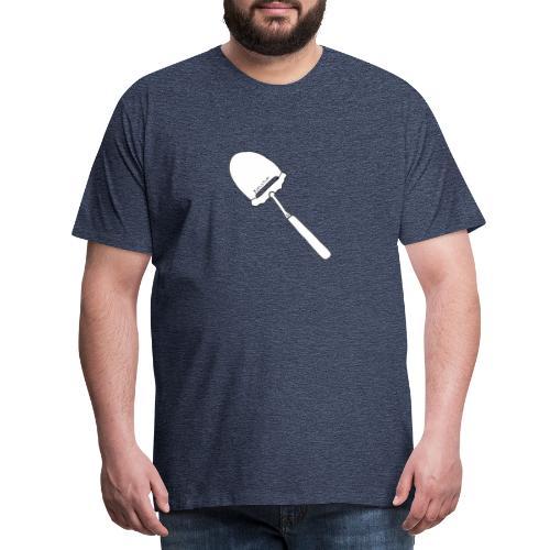 FjellTid Ostehøvel - Premium T-skjorte for menn