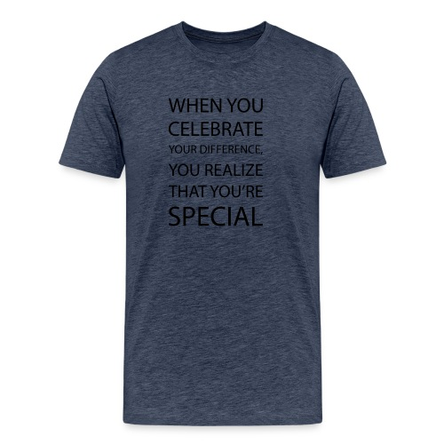 You're special - Herre premium T-shirt