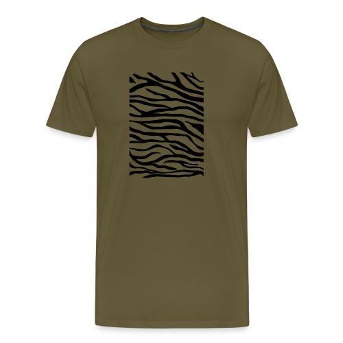 zebra v6 - Mannen Premium T-shirt