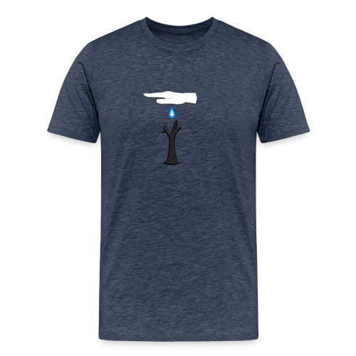 WISE HAND - Männer Premium T-Shirt