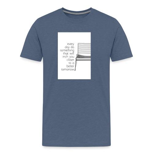 every day - Premium T-skjorte for menn