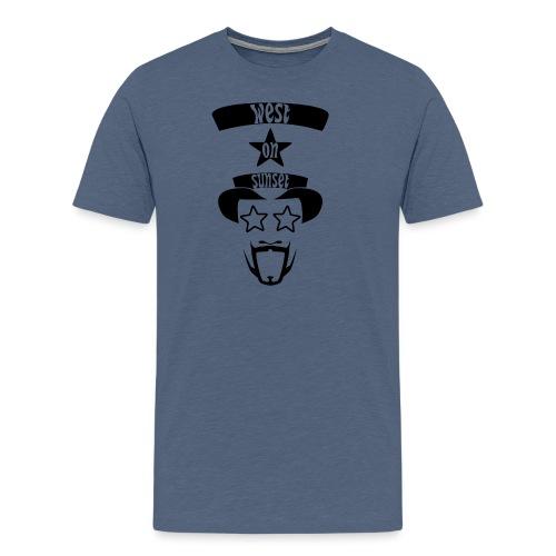 westonsunset_head - Men's Premium T-Shirt