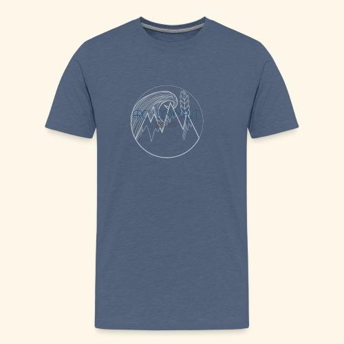 Arc en malt - T-shirt Premium Homme