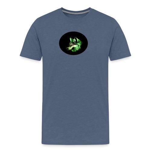 wolf profil bild edition - Männer Premium T-Shirt