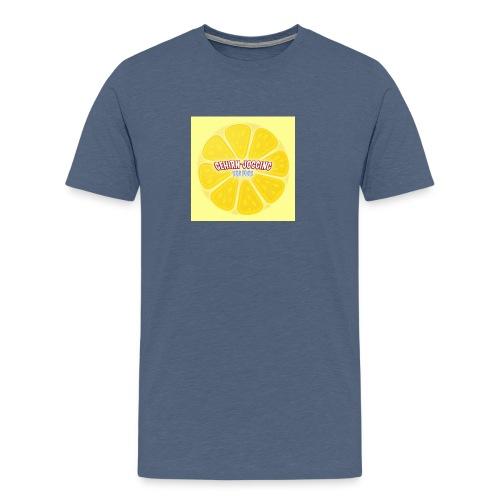 zitronetextur - Männer Premium T-Shirt