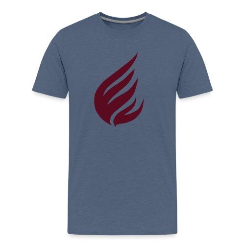flame - Männer Premium T-Shirt