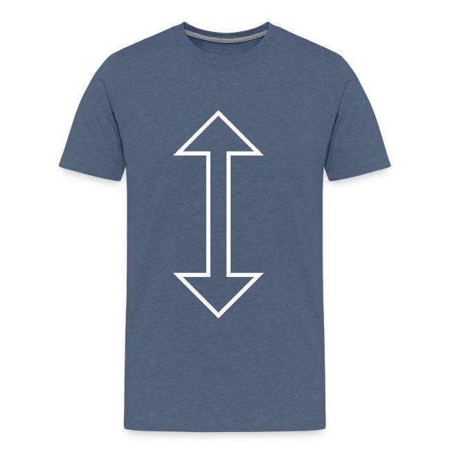 Vertical arrow