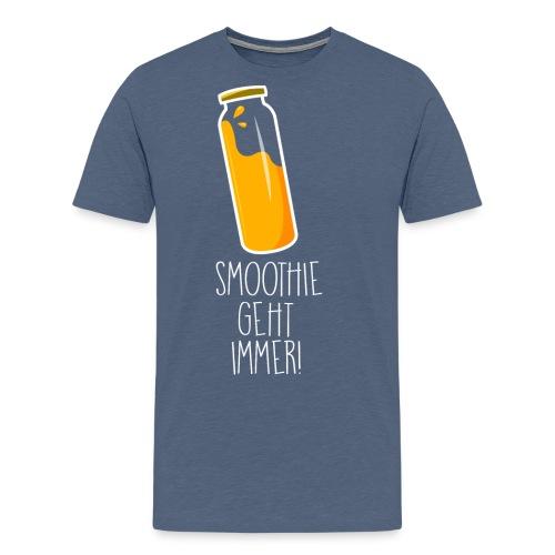 Smoothie geht immer - Männer Premium T-Shirt