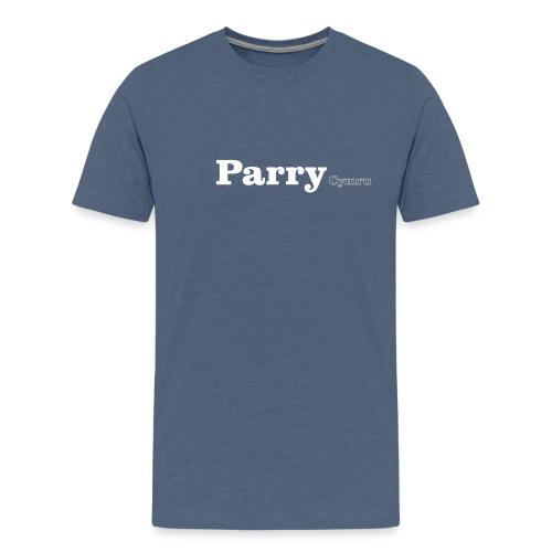 parry cymru white - Men's Premium T-Shirt