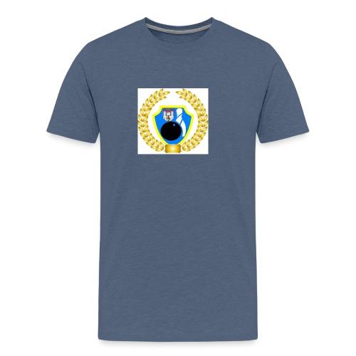 Wappen kranz - Männer Premium T-Shirt