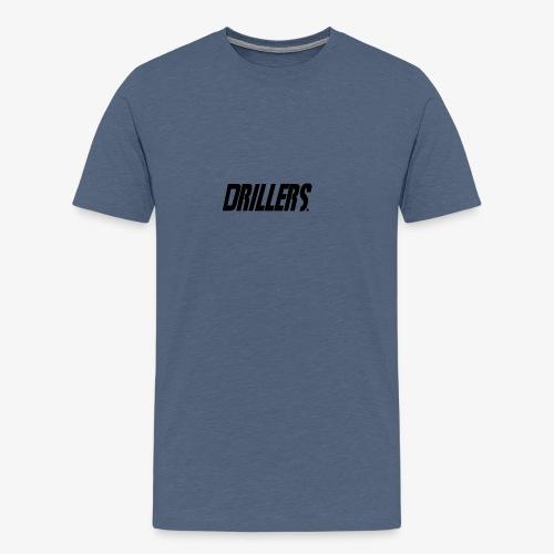 Drillers   BlackText - Men's Premium T-Shirt