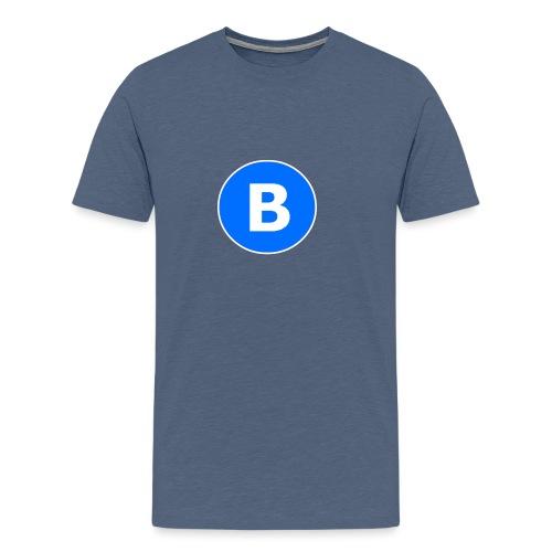 BluePrison - Herre premium T-shirt