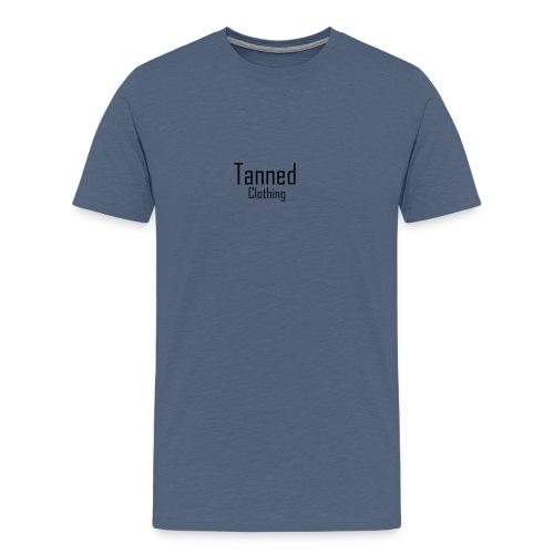 Tanned Black - Men's Premium T-Shirt