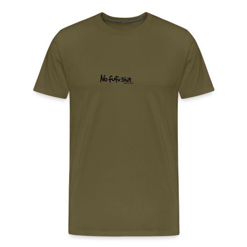 no fufu shit by brochner - Herre premium T-shirt