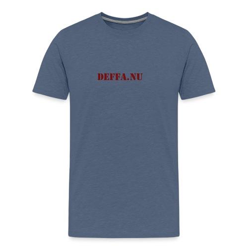 Deffa.nu - Premium-T-shirt herr