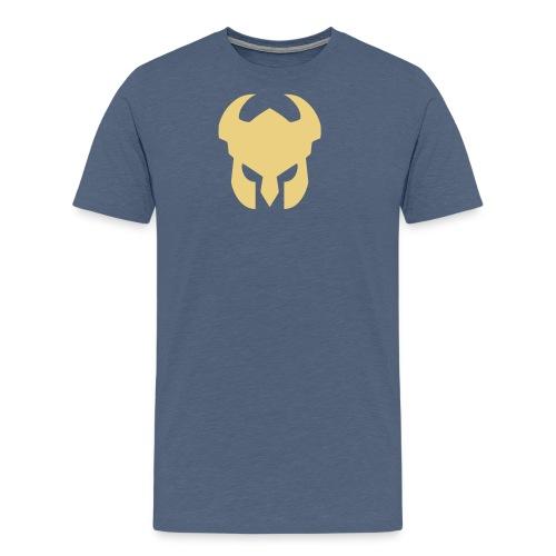 CFH Hjelm - Premium T-skjorte for menn
