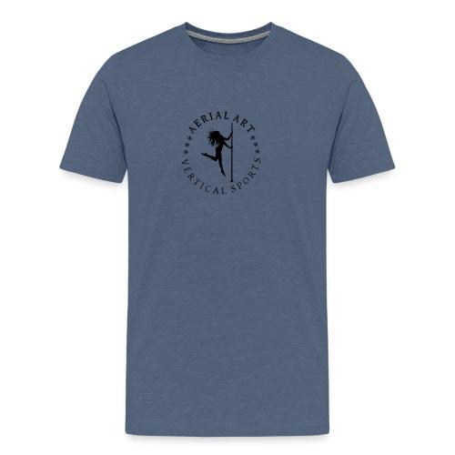 Aerial Art Pole - Männer Premium T-Shirt