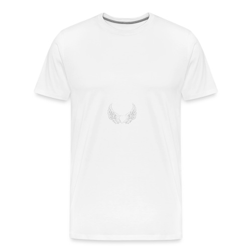 Sissy & the Saints witte letters - Mannen Premium T-shirt