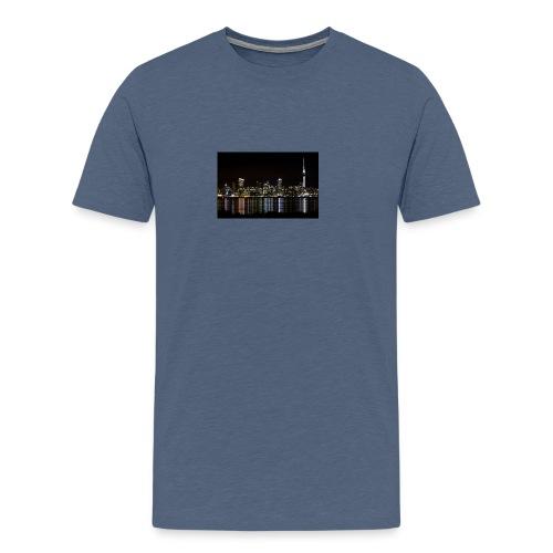 auckland-new-zealand - Premium-T-shirt herr