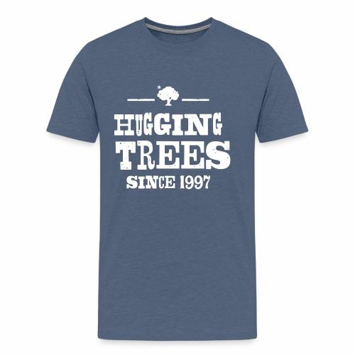 170512_KPARK_Hugging_01_v - Männer Premium T-Shirt